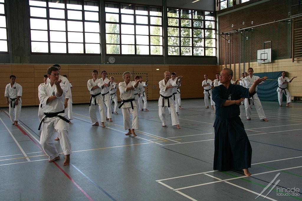karate seminár so shihanom Toshihirom Oshirom