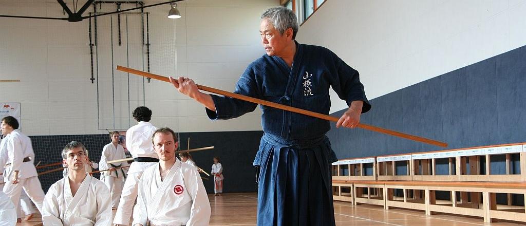 Yamanni Chinen ryu - shihan Toshihiro Oshiro